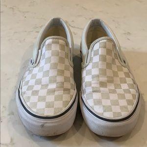Vans checker sneakers